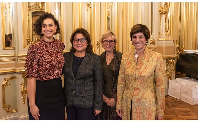Ambassadrices d'Australie, des Philippines, du Canada et de France - Cérémonie Women in Tech Global Awards 2019